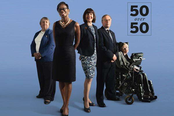 "People Management unveils  ""50 over 50"" list to celebrate the  UK's best workers over 50"
