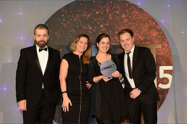 Windpower Monthly awarded Best Conference Of The Year at PPA Connect Awards 2015