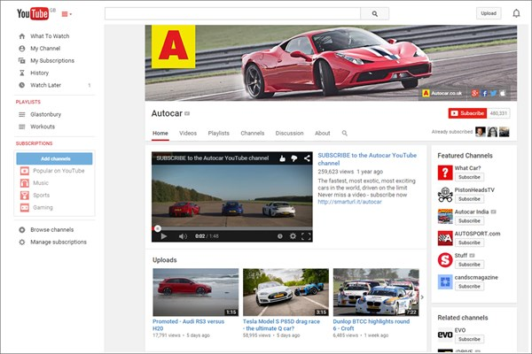 Autocar celebrates over 200 million YouTube views