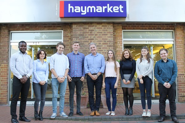 Haymarket welcomes 10 new apprentices to the Skills Academy