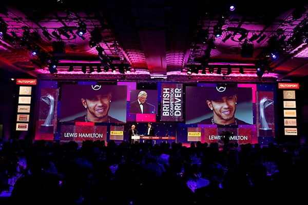 Hamilton does the double at the Autosport Awards 2015