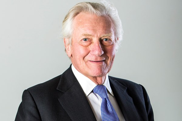 Lord Heseltine launches new book