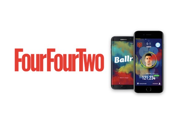 FourFourTwo and Ballr form strategic partnership
