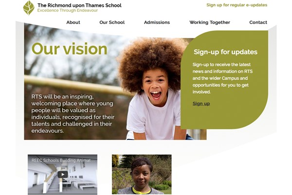 Network launches The Richmond upon Thames School site