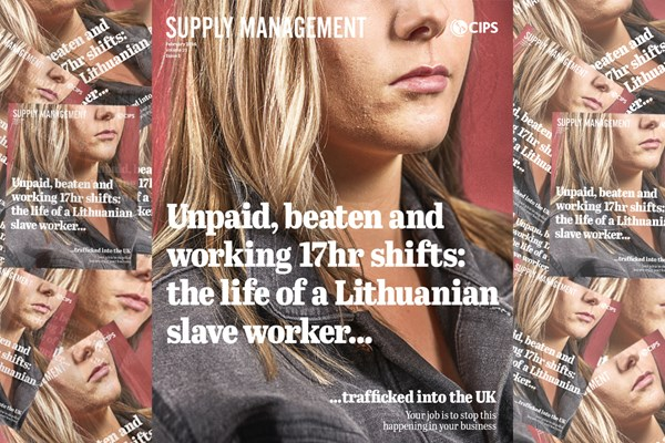 Haymarket and CIPS relaunch Supply Management with anti-slavery campaign