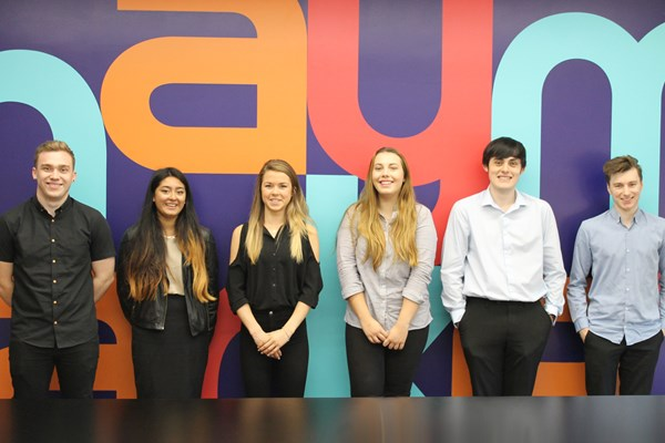 Haymarket welcomes six new apprentices to the Skills Academy