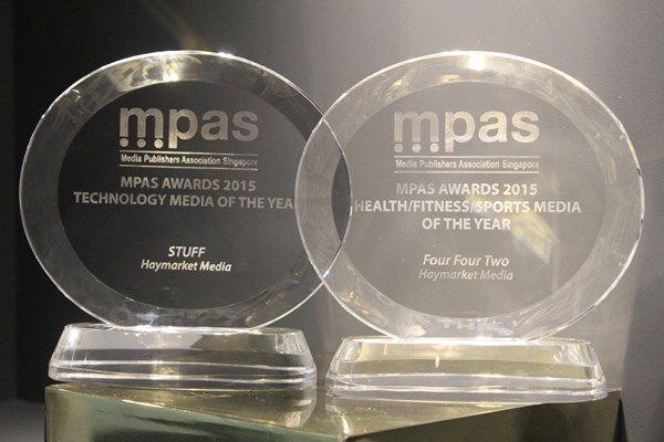 Haymarket Consumer Media, Asia, recognised with two major awards