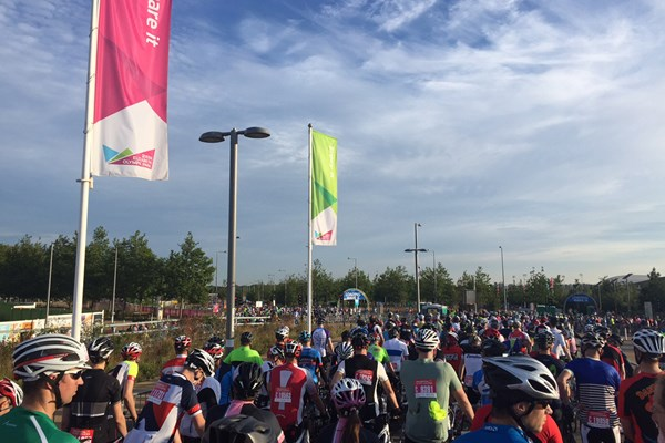 Haymarket teams raise £9,000 for charity partners at Ride London