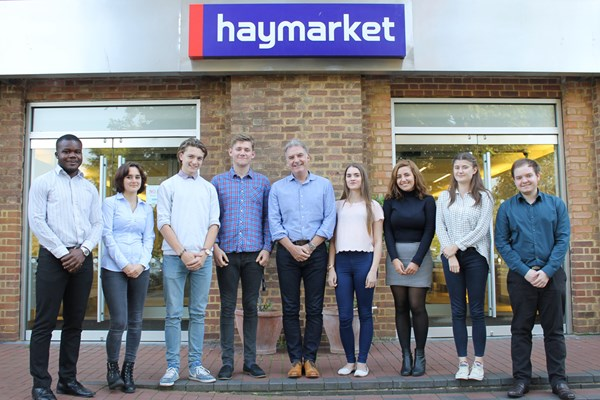 Haymarket named as finalist in National Apprenticeship Awards 2016