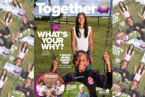 Haymarket Network launches Together magazine for Utility Warehouse